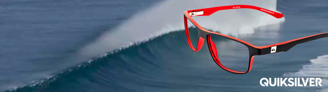 Quiksilver glasses