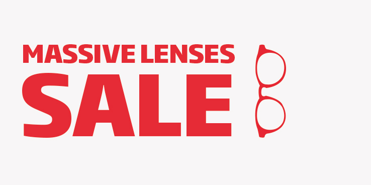 Free lenses with glasses from 89 €