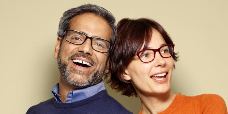 25% off glasses for over-50s