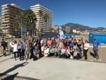75 volunteers collect 400 kgs of rubbish