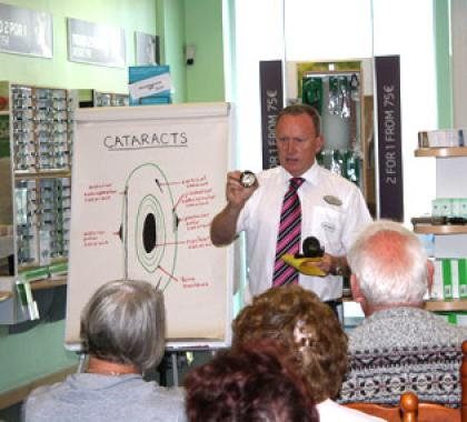 Free eye health seminar at Specsavers Torrevieja