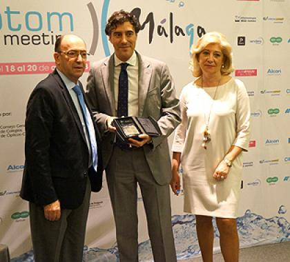 Specsavers awarded for sponsoring Optom Meeting Málaga 2013