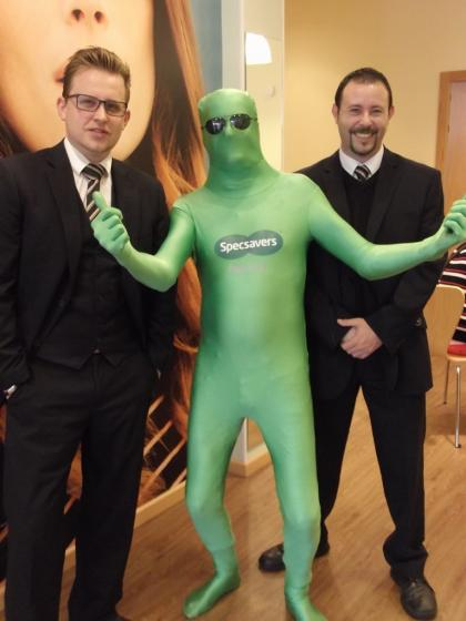 Easter Party at Specsavers in Guardamar