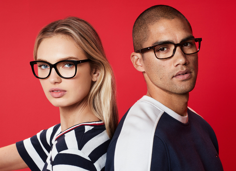 53cdd8626c Tommy Hilfiger designer glasses 2 complete pairs from 159€. Tommy Hilfiger  is one of the ...